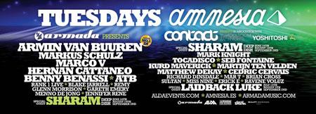 Armada, Ibiza, Amnesia