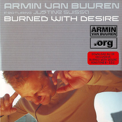 ARMIN VAN BUUREN Burned With Desire