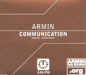 ARMIN VAN BUUREN Communication