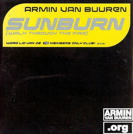 ARMIN VAN BUUREN Sunburn