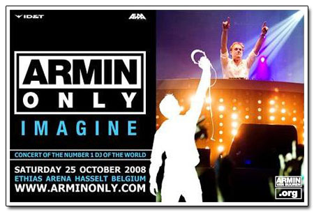Armin Only Imagine, Hasselt, Belgia