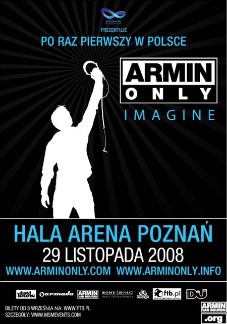 Armin Only Imagine, Poznań