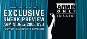 Przedpremierowy pokaz Armin Only DVD