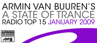 A State Of Trance Radio Top 15 January 2009