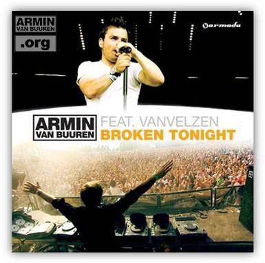 ARMIN VAN BUUREN feat. VAN VELZEN Broken Tonight