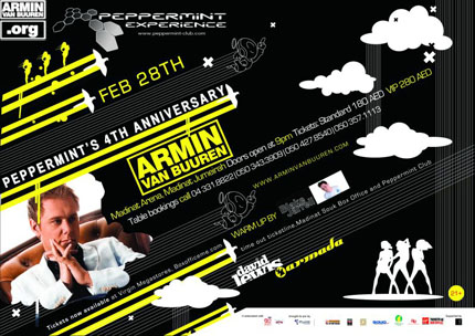 Peppermint's 4TH Anniversary, Dubaj