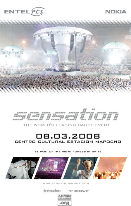 Sensation White, Santiago, Chile