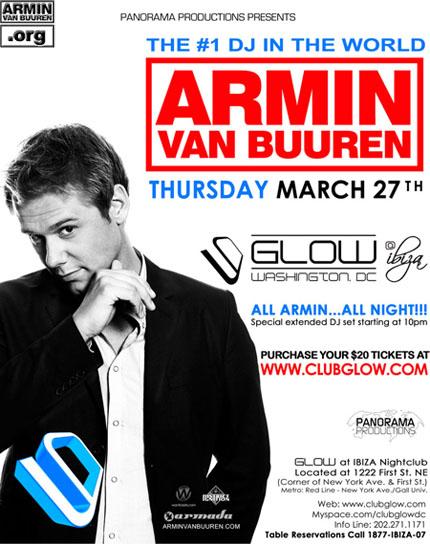 All Armin All Night, Waszyngton, USA