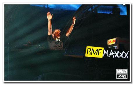Armina van Buuren dla telwizji VIVA Polska podczas Sunrise Festival 2008 - wywiad
